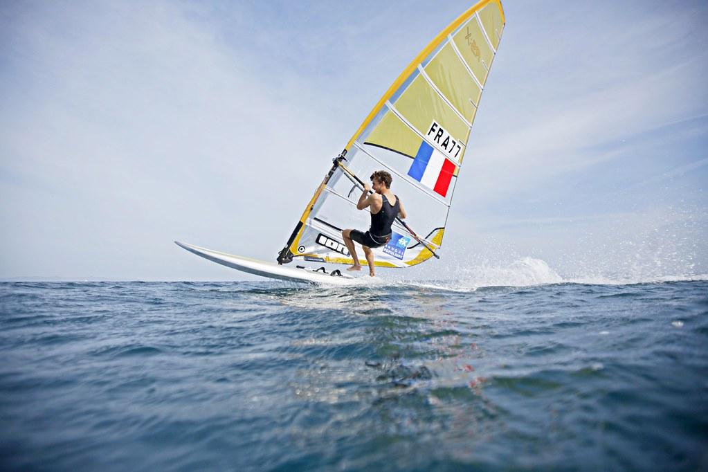 Pierre Le Coq/RS:X ©C. Launay-FFVoile