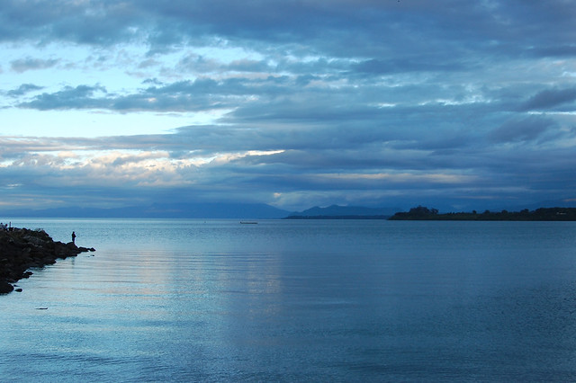 Blue Sunset over Lago Llanquihue, Puerto Varas, Chile (My Personal Favorite)