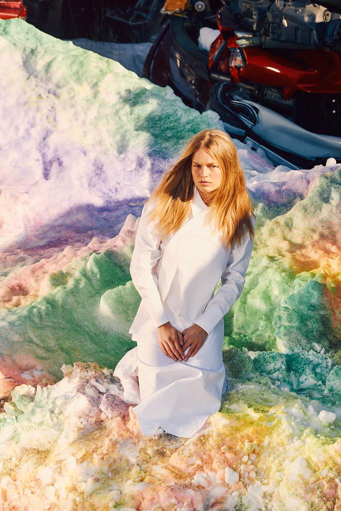 Анна Эверс — Фотосессия для «W» 2016 – 11