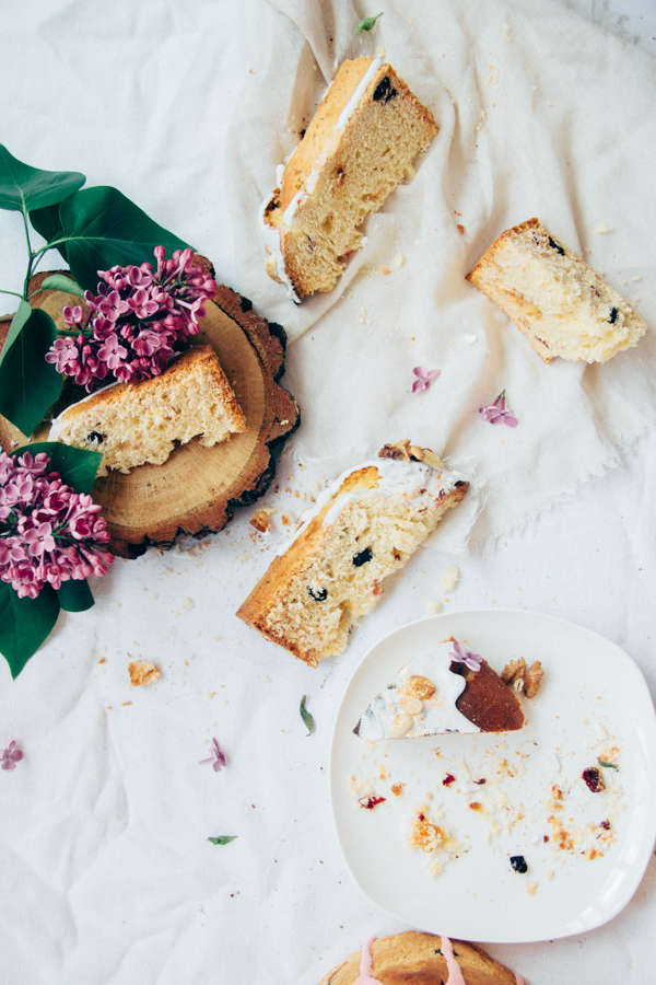 Easter Bread Panettone Kulich Paska Lilac