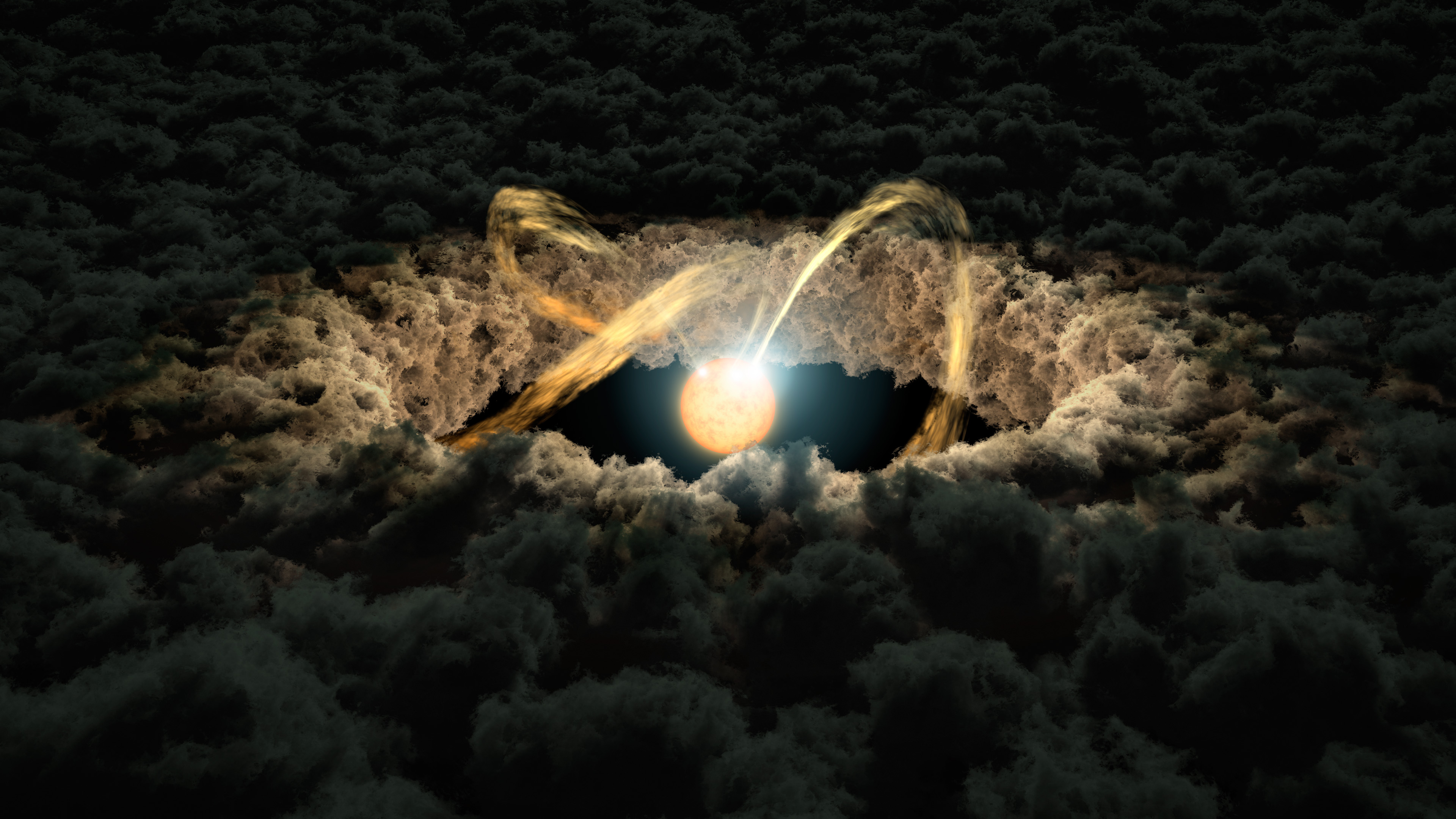 Light Echoes Used to Study Protoplanetary Disks