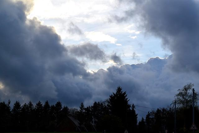 Storm Clouds in Brittany, France | www.rachelphipps.com @rachelphipps