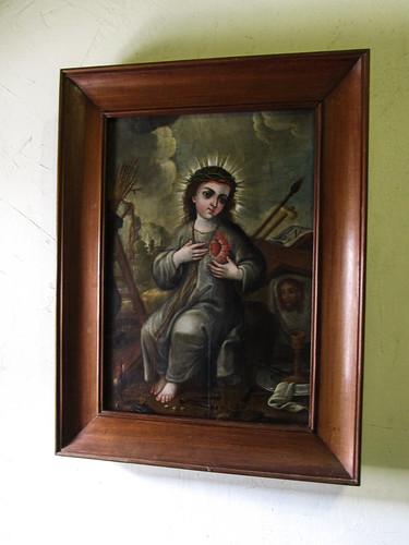 Antigua: Le bébé Jésus de la Passion