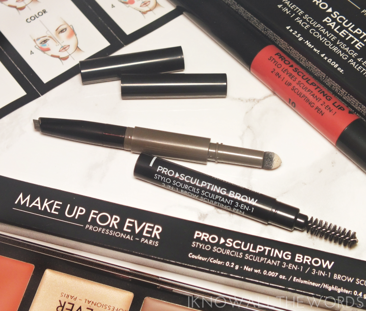 Make Up For Ever Pro Sculpting Lip in 10 (2)