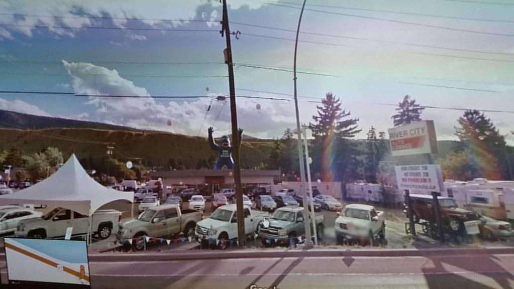 River City Auto Corner #gorillasighted  #ridingthroughwalls