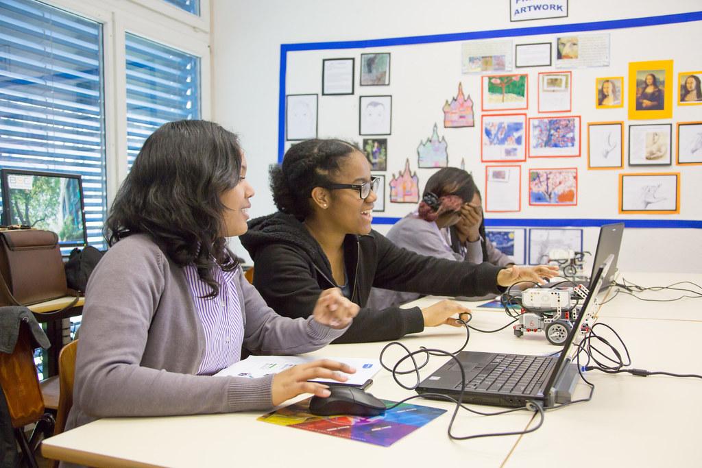 Girls in ICT Day workshop at British School Geneva