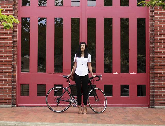 seattle city biking outfits