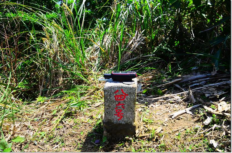西姑子律山三等三角點(# 846 Elev. 217 m) 1