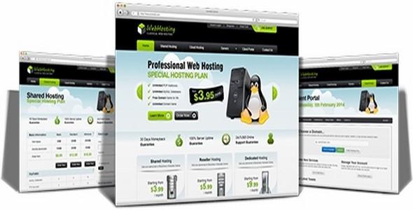 Penguin Host v5.2.4 – WHMCS Template