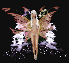 Fantasy Faire 2016 - [ SAKIDE ] - (Kethya Glow Outfit) - Faeline Fairy Wings (Ayano Rose) - ThatChick
