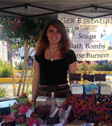 Self-expression, one bar at a time: An interview with Sarah Albrecht of Sea Essentials Soap Company