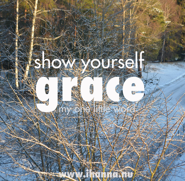 My Word of the Year 2016: Grace
