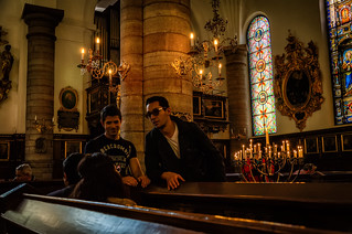 Image of German Church. friends light summer art church beautiful smile bench nikon candle sweden stockholm scandinavia chatting oldtown 2015 germanchurch tyska