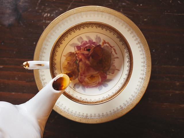rose tea. (8/365)