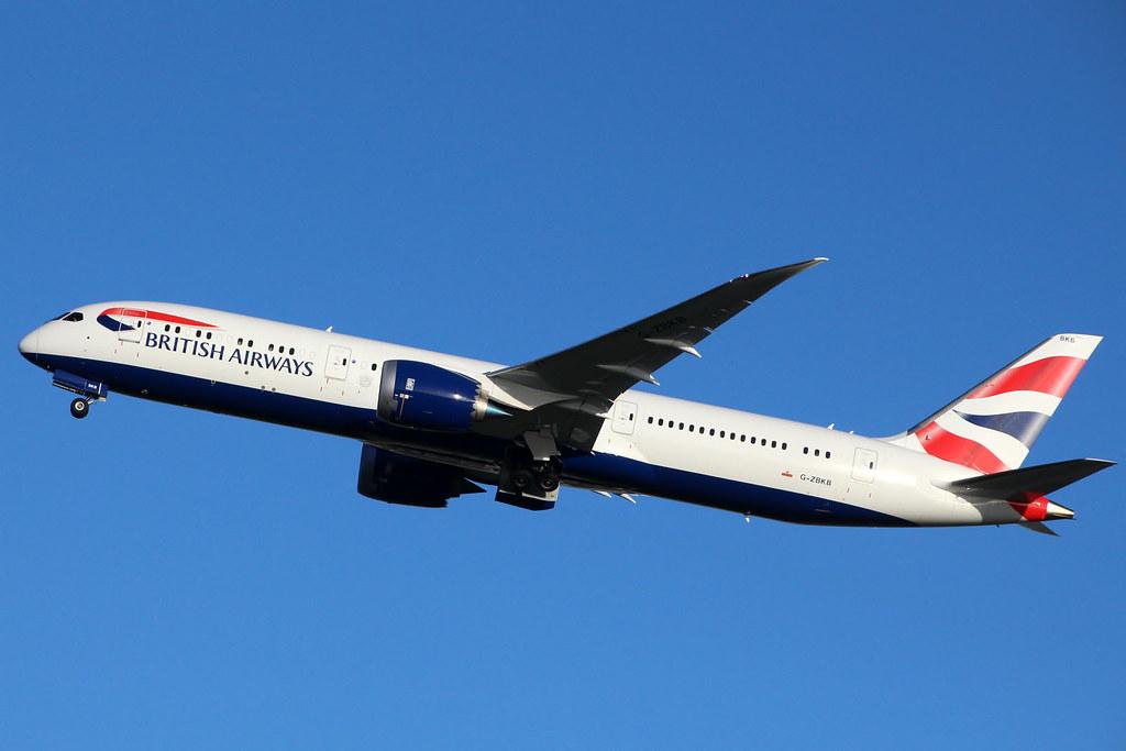 G-ZBKB - B789 - British Airways