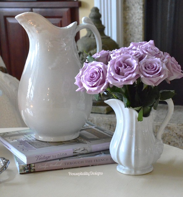 Lavender Roses and Ironstone - Housepitality Designs