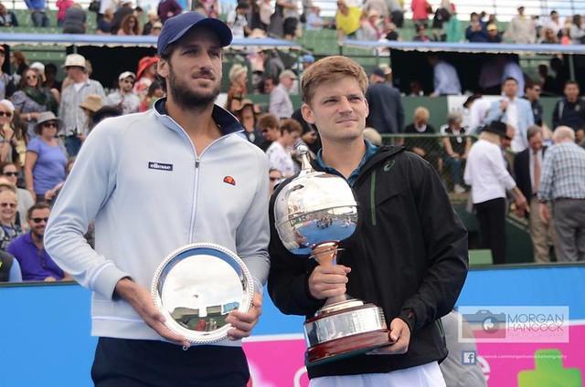 Felicano Lopez and David Goffin