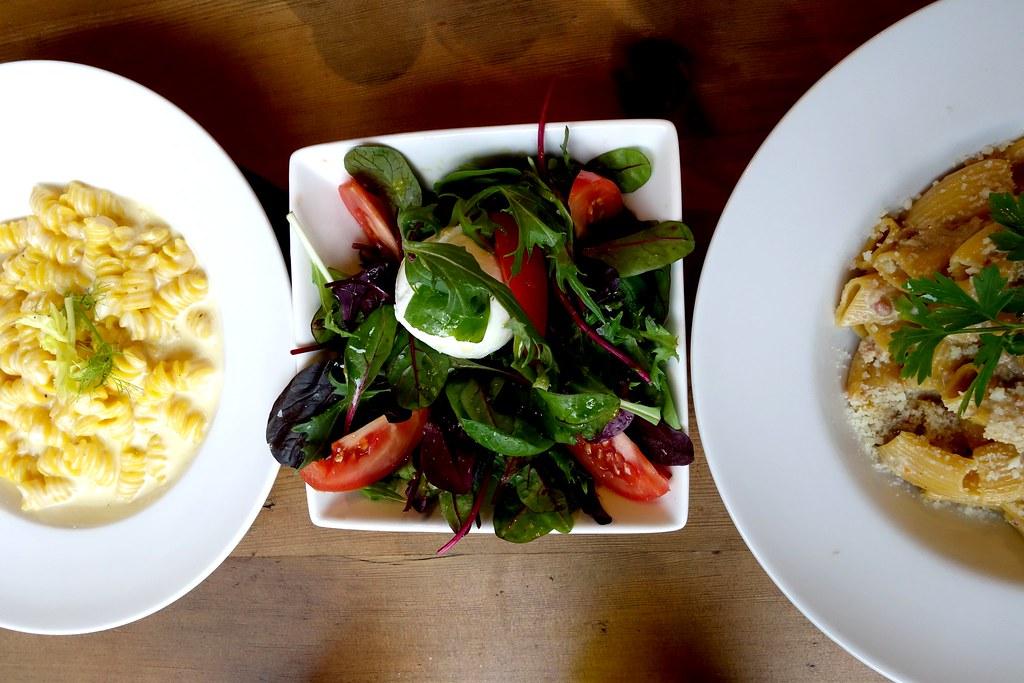 Pasta and Salad Combo, Pasta Remoli, Finsbury Park