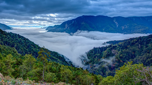 autumn mountain fall clouds canon landscape day wind cloudy taiwan windy nopeople taichung hdr 秋天 雲海 1635mm canoneos5dmarkiii canon5dmarkiii