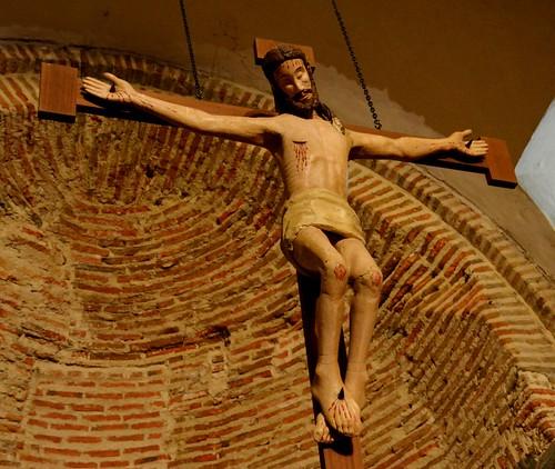 Aldeaseca de la Frontera. Iglesia de la Asunción. Cristo
