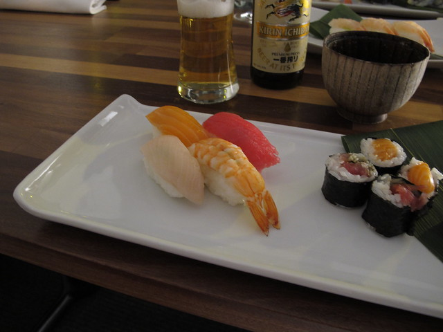 saturday, sushi with johanna, eki sushi, helsingborg