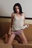 Model in Panties