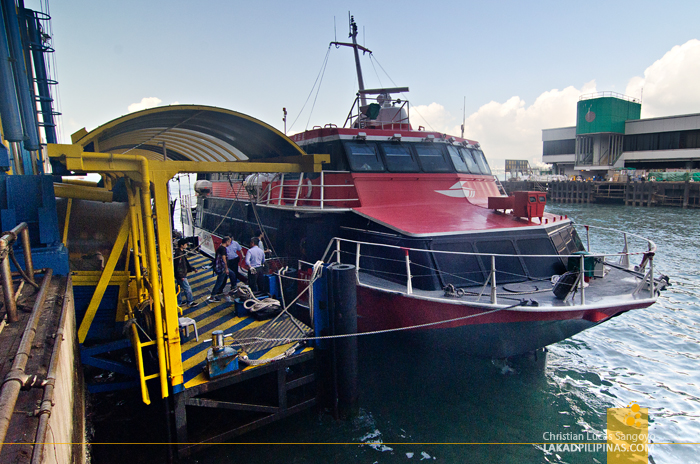 Hong Kong to Macau by Turbojet Ferry