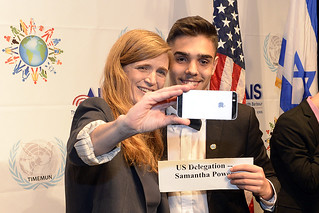 """From the Real UN to the Model UN"" - U.S. Ambassador to the UN Samantha Power's visit to Israel"