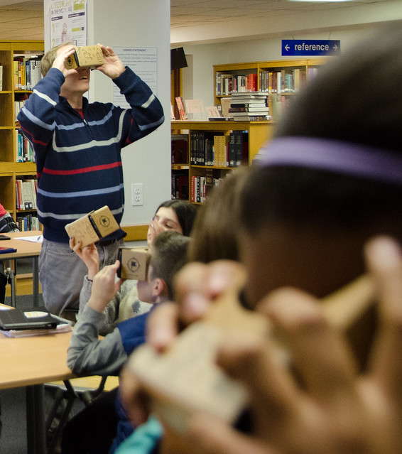 Google Expeditions Pioneer Program Visit