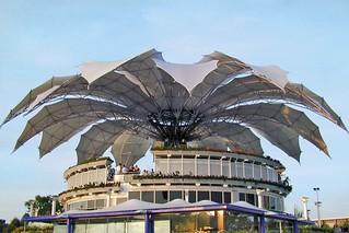 Le pavillon du Vénézuela à l'Exposition Universelle de 2000 (Hanovre, Allemagne)