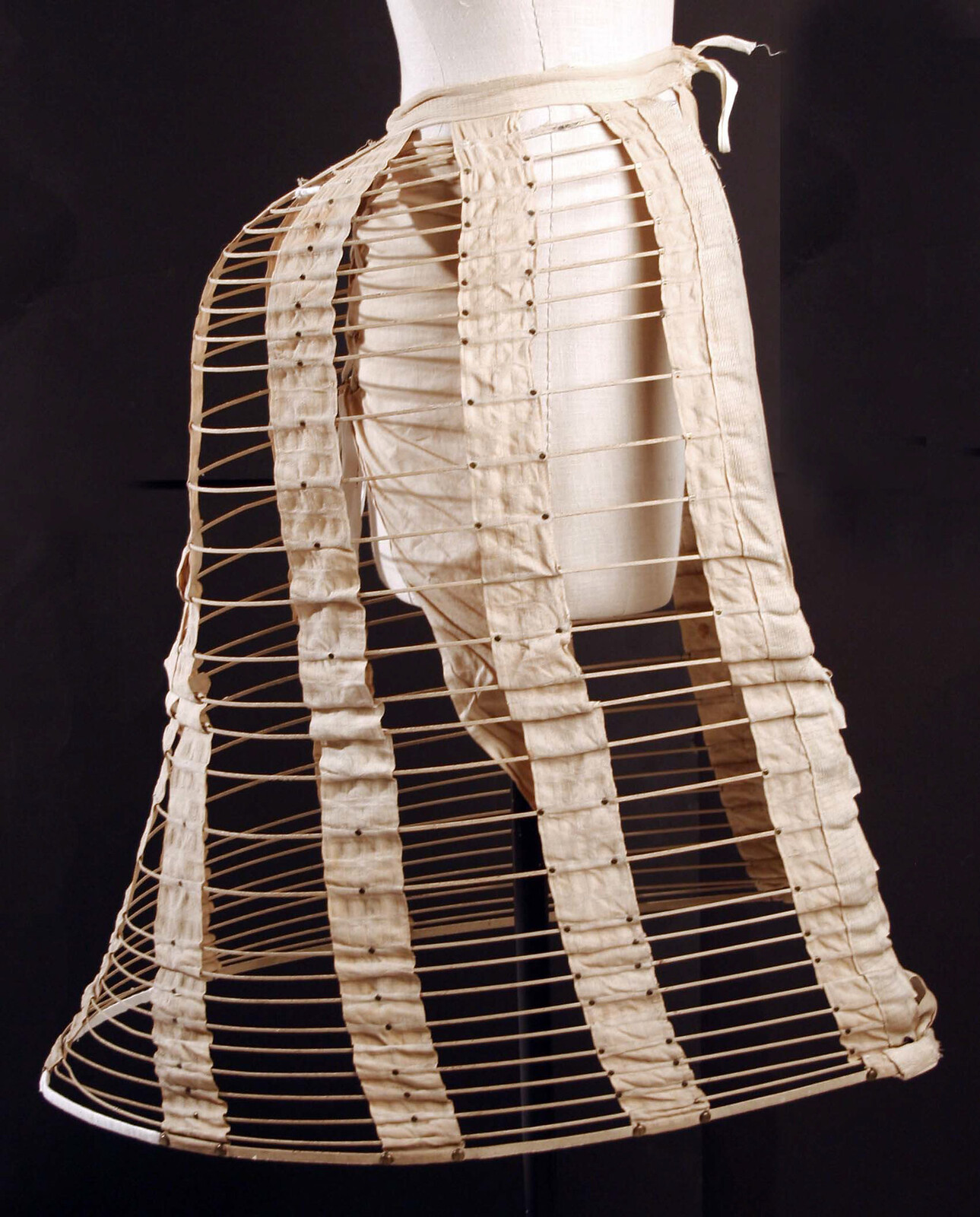 Bustle from 1870s, American. memuseum