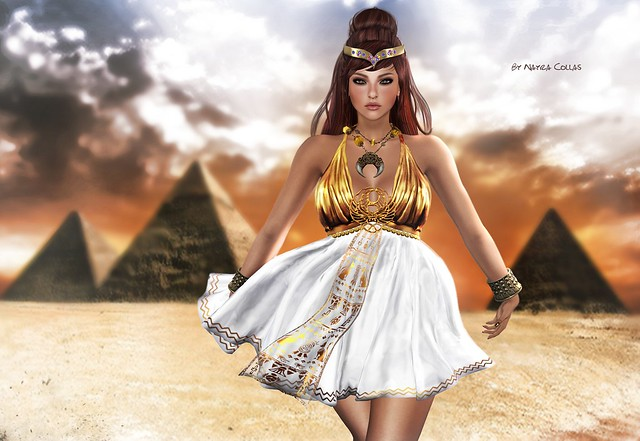 Guarding the treasures of the pyramids♥