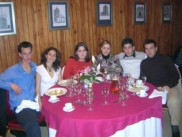 CENA SOCIOS 2003-2