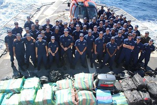 Coast Guard Cutter Valiant returns from record-setting counter-drug deployment