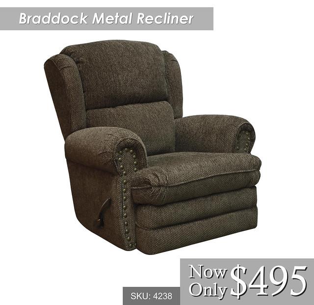 Braddock Metal Recliner
