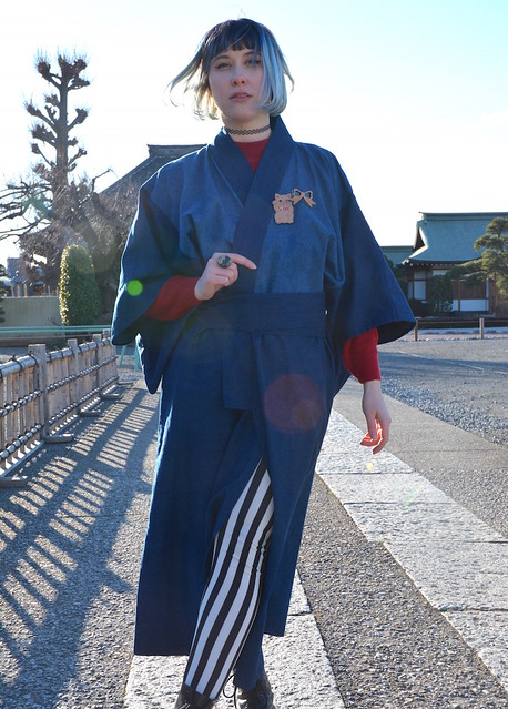 kimono kid x SALZ Tokyo