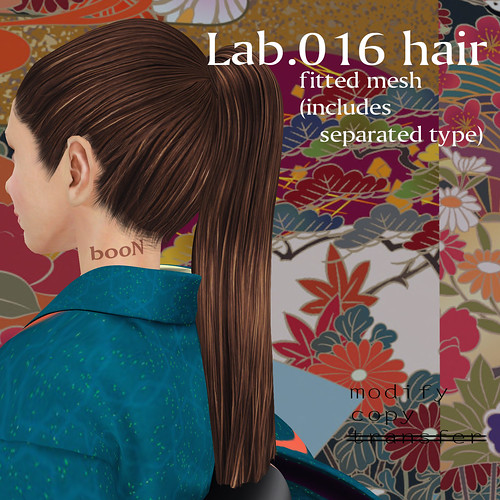 booN Lab.016 hair