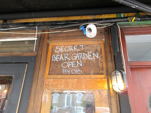 Bear Garden in Kentish Town