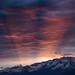 Sunrise over Grenoble by Alexandre Carpentier