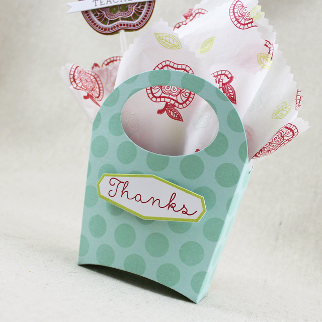 Teacher Thank You Mini Tote