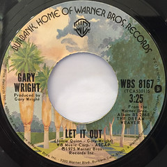 GARY WRIGHT:DREAM WEAVER(LABEL SIDE-B)