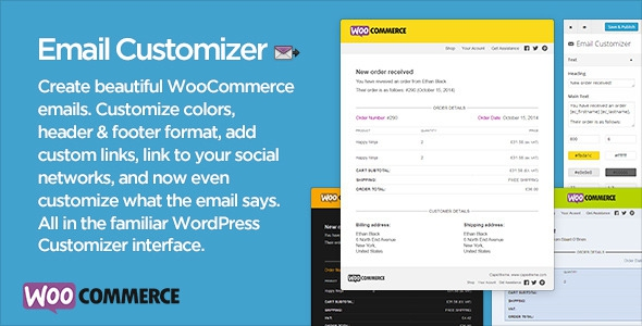 Email Customizer for WooCommerce v2.33