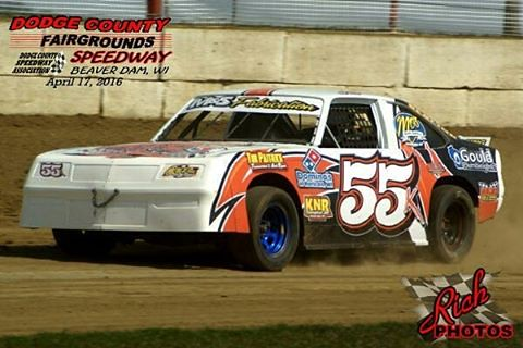 DCSA Street Stock division racing starts April 24th on the half mile speedway near Beaver Dam, WI #racing #wi #familyfun #entertainment #outdoor #activities