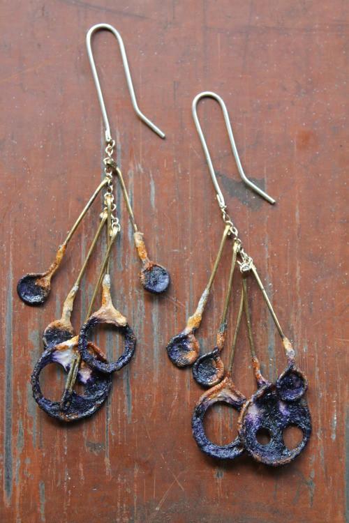 VERSO Jewelry Meteor Shower Earrings