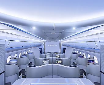 Airbus A350 Airspace interior (Airbus)