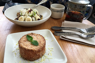Samovar Tea Lounge - Chia Pudding Lemon Coconut Torte