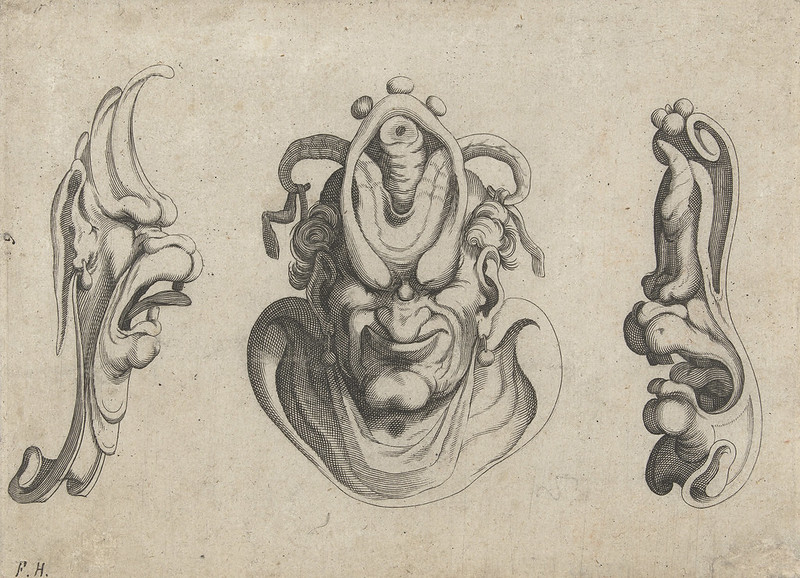 Arent van Bolten - Grotesque Creatures 4, 1604-1616