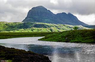 Suilven, nr Lochinver, Scotland