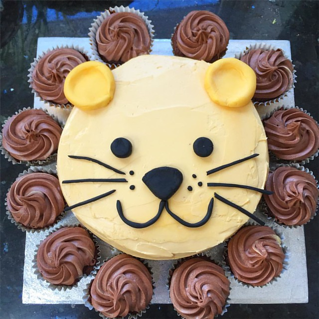 Lion Cake | Beanstalk Single Mums