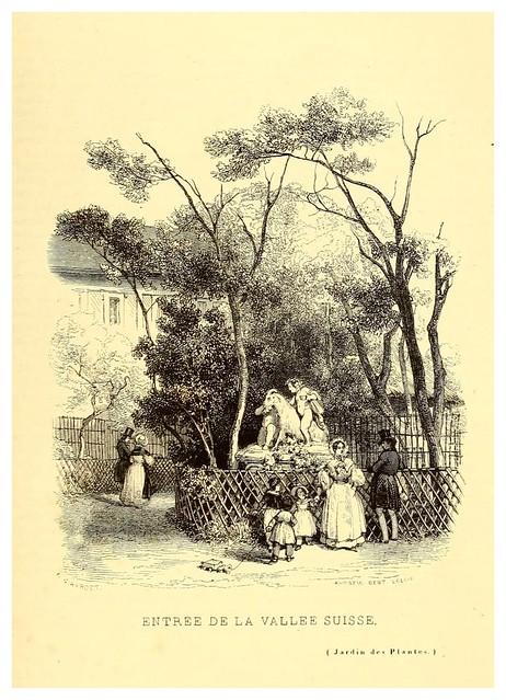 008-Entrada al valle suizo-Le Jardin des plantes description et murs des mammifères..1842-Pierre Boitard